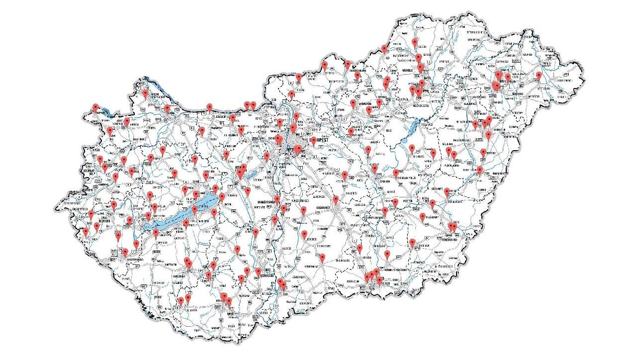 véda kapu térkép A magyarországi fix traffipaxok listája + VÉDA térkép